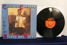 Clifton Chenier Sings The Blues, Arhoolie Records 1097, 1987, Zydeco