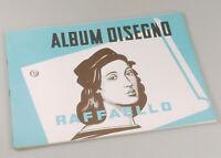PRL) ALBUM DISEGNO STILE RUVIDO 20 FOGLI PAGINE 24x33 cm RAFFAELLO DESSIN DIBUJO