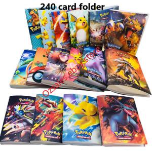 Pokemon Album Folder Card holders, 240 pokemon cards holder