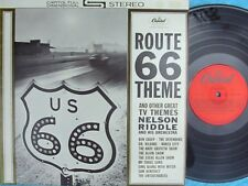 Nelson Riddle NZ Reissue LP Route 66 theme & Other great TV themes EX Capitol