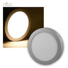 LED Construcción Panel 15W rendondo blanco cálido 1100lm Adorno Lámpara de techo