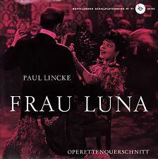 *-Vinyl-Schallplatte- Frau LUNA - Paul LINCKE - Operettenquerschnitt