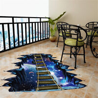 3D Star Series Floor Wall Sticker Removable Mural Decals Vinyl Art Room UYB