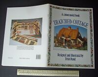 Thatched Cottage Card Cut-Out Model Book 1986 Vintage. Trish Rand Design