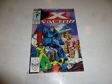 X-FACTOR Comic - Vol 1 - No 25 - Date 02/1988 - Marvel Comic (NBC)