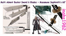 "Multi Advent Children Buster + Masamune Sephiroth's 68"" Sword"