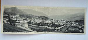 CAVALESE panorama Trento vecchia cartolina PANORAMICA