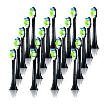 For Philips Sonicare HX9332/04 Diamond Clean Electric Black Toothbrush Heads x20