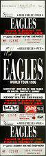 * Eagles * 1996 Full & Unused Concert Ticket - Hell Freezes Over Tour - Paris