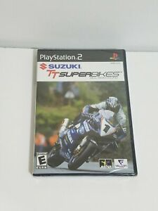 Suzuki TT Superbikes Real Road Racing Championship Playstation 2 PS2 New Sealed