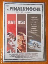 DVD AL FINAL DE LA NOCHE - LESLIE CARON, DAVID NIVEN - NUEVA, PRECINTADA (Q9)
