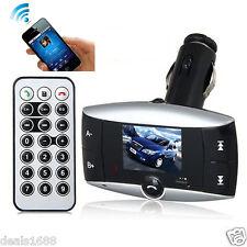 Bluetooth Wireless FM Transmitter Modulator Car Kit LCD MP3 Player SD USB SD New