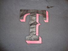 Texas Rangers Baseball Nike Gray T Shirt L
