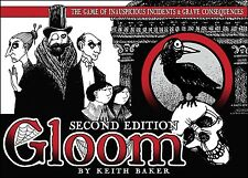 Gloom 2nd Edition Card Game Wicked Family Fun Atlas Games ATG 1350 Base Core