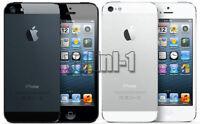 Apple iPhone 5 Factory Unlocked GSM Smartphone 16gb 32gb 64gb Black White Good