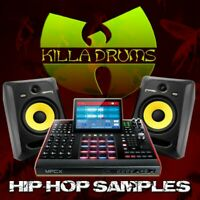 Wu-Tang Killa Drums, Loops N Breaks Wav. Samples Akai MPC MPK MPD