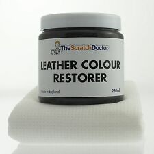 DARK GREY Leather Dye Colour Restorer for BMW Leather Car Interiors, Seats etc.