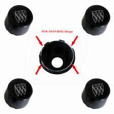 84-87 T T-Type GN Tri-Shield Wheel Center Caps Redesigned SNAP RINGS - SET of 4