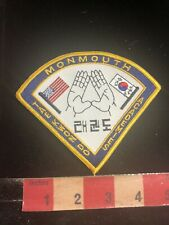 Martial Arts Patch Monmouth Tae Kwon Do Academies 01Rn