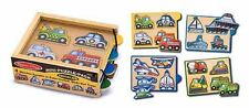 Melissa & Doug Vehicles Mini-Puzzle-Pack #4791 BRAND NEW
