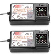 2Pcs Flysky FS-GR3E Receiver for FS-GT2 FS-GT2B FS-GT3B FS-GT3C FZ-IT4S RC Car