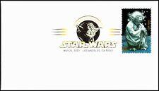 OAS-CNY 5194 FDC 2007 STAR WARS YODA SCOTT 4143n