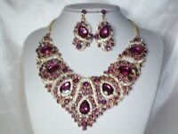 Bridal Statement Prom Pageant Quenceanera Party Drag Queen Wedding Necklace