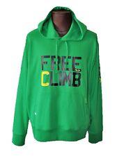 Ralph Lauren RLX  New Hoodie Jacket XL Cotton Blend Green Solid Long Sleeve NWT