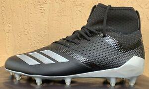 Adidas adizero 5-Star 7.0 Lacrosse/Football Cleats Size 8.5-10-11-12-13 BLACK