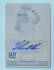 HAKEEM NICKS 2010 BOWMAN STERLING CYAN PRINTING PLATE AUTOGRAPH AUTO 1/1 GIANTS