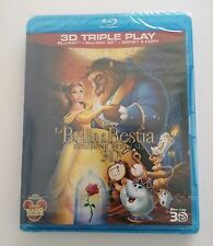 Beauty and the Beast Blu-ray 3D Disc Rare Special Limited Edition Region B Movie