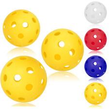 1PCS 70mm Pickleball Bouncy Durable Ball for Outdoor & Indoor Activities Yellow