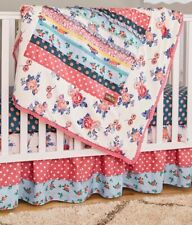 New Matilda jane Rock-a-Bye Baby Blanket Crib Bedding Nib