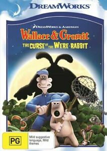 Wallace And Gromit - The Curse Of The Were-Rabbit NEW  DVD