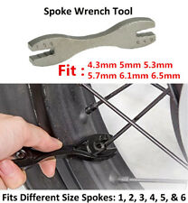 1X Steel DIY Portable Spoke Wrench Tool Universal For Motorcycle Bikes Wheel Rim