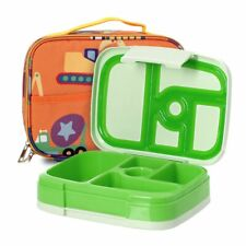 5 Compartment Bento Box for Kids Bento Lunch Box Set BPA Free Plastic Bento Box