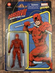 NEW MARVEL LEGENDS RETRO KENNER HASBRO Daredevil Action Figure - NIP MINT