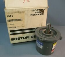 Boston Gear Motor Multiplier Planentary Reductor 5:1 Ratio FSP5 503868
