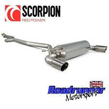 "Scorpion BMW M135i Exhaust 3"" Cat Back System Non Resonated Polish Tails SBM066"