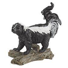 Skunk Garden Statue Statuary Animal Sculpture Home Backyard Decor Yard lawn Art