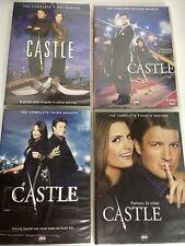 Castle Seasons 1 - 4 Complete Series DVD