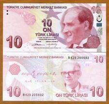 Turkey, 10 Lira 2009 (2012), P-223, UNC