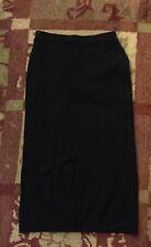NWT DRESSBARN SKIRT Black sweater knit M medium $29ret