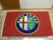 Fahnen Flagge Alfa Romeo Rot - 90 x 150 cm