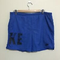 Nike Sportswear Vintage 90's Running Shorts Blue Mens Small
