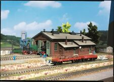 Vollmer kit 47608 NEW N ENGINE SHED DOUBLE TRACK