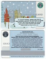 2005 Starbucks Coffee City Skate Gift Card Limited Edition New Rare