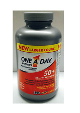 One A Day Women's 50+ Advantage Multivitamin/Multimineral Supplement 220 Tablets