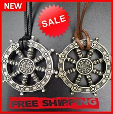 Wheel Of Life Pendant Buddha Necklace Samsara Buddhist Talisman And Amulet Jewel