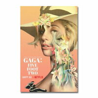 118965 Lady Gaga Five Foot Two Netflix Documentary Film LAMINATED POSTER FR